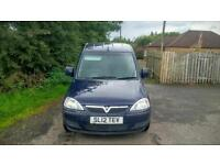 NO VAT.Vauxhall Combo 1700 SE CDTI, 1 Owner from new, 54,000 Miles,Service history, MOT 15/4/17.