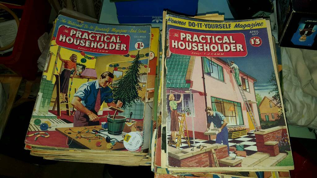Vintage diy magazines do it yourself homemaker and practical vintage diy magazines do it yourself homemaker and practical household solutioingenieria Gallery