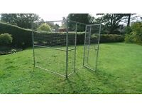 GALVANISED DOG PEN RUN KENNEL CAGE CAN DELIVER