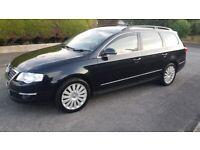 Outstanding.Volkswagen, PASSAT Highline Tdi 105 Estate Car 1896 cc,2008,Manual).lexus jaguar.audi,rs