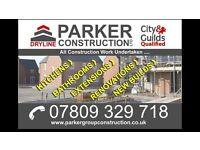 Parker group construction ltd, builders, construction, kitchens, extensions, bathrooms,