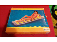 Inflatable air mattress, new