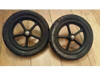 Bugaboo cameleon rear wheels foam filled