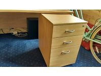 Office desk and drawer unit for sale