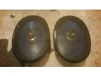 Alpine 6x9 speakers 120watts
