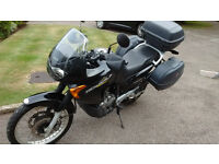 Honda Transalp, low mileage, 2 owners. Honda luggage and heated grips. Perfect commuter or tourer.