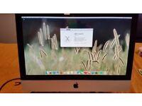 "Apple iMac 21.5"" Intel E7600 @ 3GHz, 8GB Ram, 250GB SSD, Nvidid GeForce 9400 Graphics"