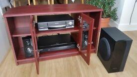 Samsung HT-C5800/XEU 3D DVD player speakers/bass as new