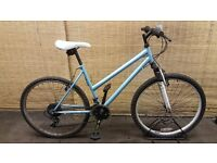 Ladies mountain bike ACTIVE BLUE Frame 18""