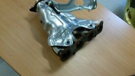 Exhaust manifold and heat shield for Peugeot 206 sw 2004