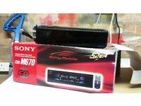 Sony car radio for sale