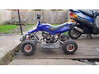 Mini moto quad (spares or repairs)easy fix