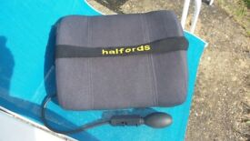 Air assisted bolster seat from Halfords good condition