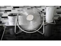 Desk Fan in good working order hardly used