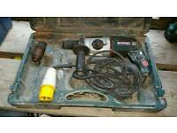 Metabo bhe 22 110v in used condition! fully working! can deliver or post!