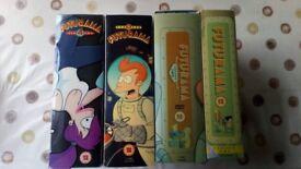 Futurama Boxed Set's 1 to 4.