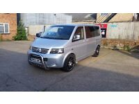 Very reluctant sale VW Transporter Shuttle Caravelle T5 not T4 - unfinished project