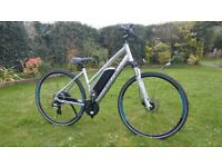 Carrera Crossfire E bike .Women's Electric E Bike Only 4 months old