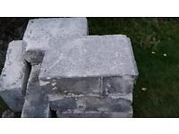 Concrete block free to collect
