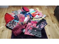 GIRLS CLOTHES BUNDLE 4-5YRS 44 ITEMS