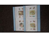 Peter Rabbit collection x4 Beatrix Potter.