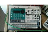Korg ES1 sampler and sound module.