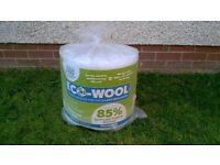 Eco wool insulation