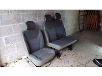 Vivaro seats