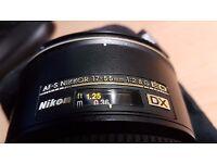 Nikon AF-S Nikkor 17-55mm 1:2.8G ED Lens (DX)