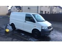 White VW Transporter for sale.