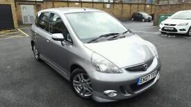 2007(EK07TXV)Honda Jazz . 1.3 I-DSI SPORT. Silver 89K Warranted Mileage. MOT- March 2017