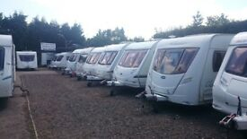 Quality Used Caravans For Sale at affordable prices JANUARY SALES NOW ON !!