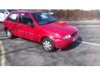 Ford Fiesta 1.3 Petrol Long Mot Only 85k