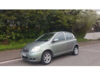 TOYOTA YARIS AUTOMATIC, 54 REG, 65K MILES, 1 YEAR MOT, HPI CLEAR, 5 DOOR, DELIVERY AVAILABLE