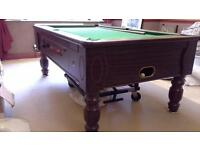 Simply Pool 'Tournament' Slate bed table. option for coin operation. 3' X 6' Very Good Condition