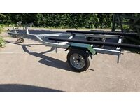 Xtreme Boat trailer, galvanised, 2008 for up to 3.5m boat/inflatable