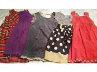 Girls Winter party dresses. 2-3 yrs. Monsoon, designer boutique.