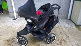 Phil & teds explorer stroller 2 seater