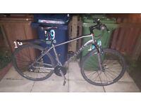Trek hybrid peddle bike
