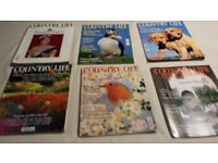 Collection of Country Life Magazines 2007-2017,approx 600