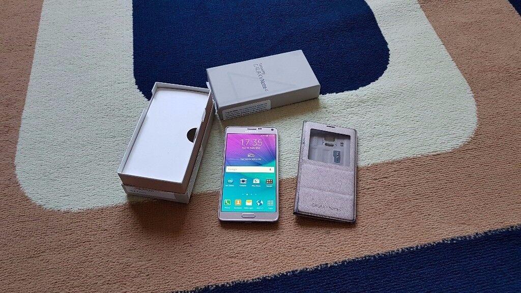 Samsung Note 4 SM-N910F - 32GB - Bronze Gold (Unlocked) Smartphone Excellent