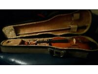 Stentor used 3/4 violin with bow and case