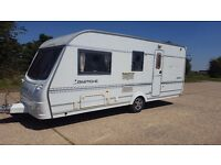 2005 Coachman Pastiche 520 4 Berth Touring Caravan with porch awning Fantastic Condition