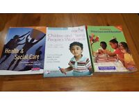 Children and Young Peoples Wiorkforce Level 3 Diploma plus 2 books