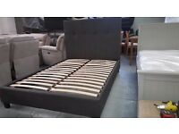 Julian Bowen Sorrento High Headboard Double Bed **CAN DELIVER**