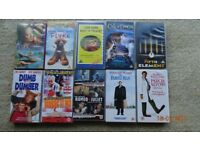 50 VHS Tapes Various Categories (Can be purchased individually or as a lot)