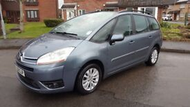 58 Citroen C4 GRAND PICASSO 7 SEATER VTR+ 1.6 --- 63 mpg, TAX 190,- and MAJOR SERVICE TODAY! ---