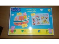 Brand new Peppa Pig toy bundle, large sets, Campervan, Grandpa pig Boat, Weebles rocket, Beach buggy