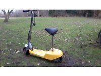 child's motorised scooter