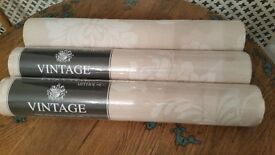 3 rolls of luxury textured wallpaper